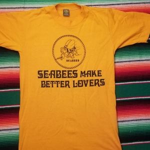 Vintage SeaBees t shirt